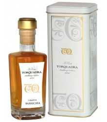 Grappa Barricata 500ml in Metallbox